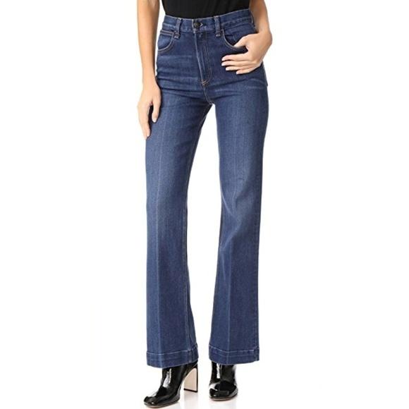Ragamp; High Jeans Rise Flare Bone Justine Highwater L5AR34j